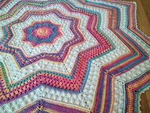 Pattern Rainbow Starlight Blanket