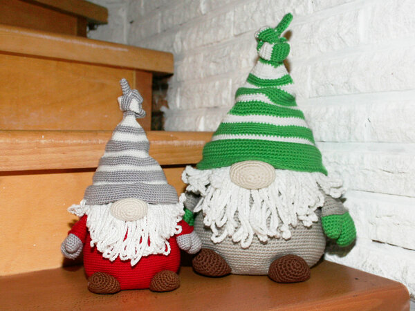 Gnome - Doorstop, Decoration - Crochet Pattern