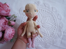 Small doll body crochet pattern