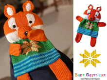 Baby Comforter Fox - Knitting pattern