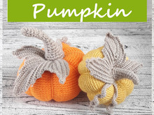 Pumpkin Autumn Thanksgiving decor Crochet pattern