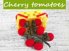 Cherry tomatoes Crochet Pattern