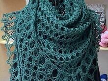 Pattern Crochet Shawl *Dora*