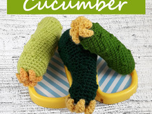 Cucumber Crochet Pattern