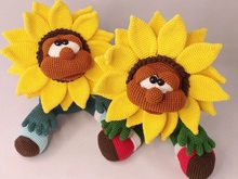 "Crochet Pattern ""The Sunflower"""