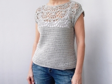 Anleitung Pearl Shell top