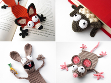 Forest Animals Bookmarks PDF Crochet Pattern Bundle