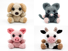 Farm Animals PDF Crochet Pattern Bundle