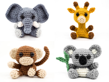 Exotic Animals PDF Crochet Pattern Bundle