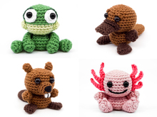 Aquatic Animals PDF Crochet Pattern Bundle