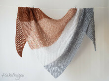 "Tunisian Crochet Pattern ""Zuckerwatte"" Shawl"
