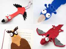 Bird Bookmarks PDF Crochet Pattern Bundle