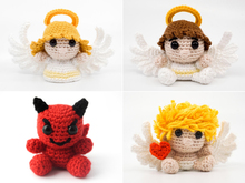 Amigurumi Heaven and Hell PDF Crochet Pattern Bundle