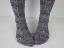 "Knitting pattern socks ""Mousy"""