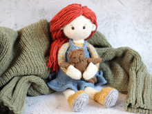 My candy doll Jane (PDF knitting pattern)
