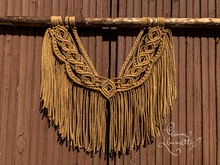 Macrame wall hanging 'Prince' video tutorial with English captions