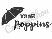 Plotterdatei Team Poppins