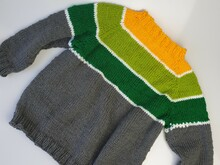 Pattern Baby Daffi pullover in sizes 1/3 m-- 2 Years