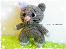 Crochet pattern cat PDF Ternura Amigurumi English- Deutsch- Dutch