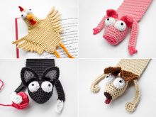 Farm Animals Bookmarks PDF Crochet Pattern Bundle