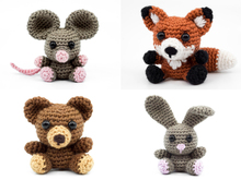 Forest Animals PDF Crochet Pattern Bundle