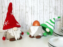 Gnome - Egg Cozy, Decoration - Crochet Pattern