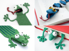 Amphibians Bookmarks PDF Crochet Pattern Bundle