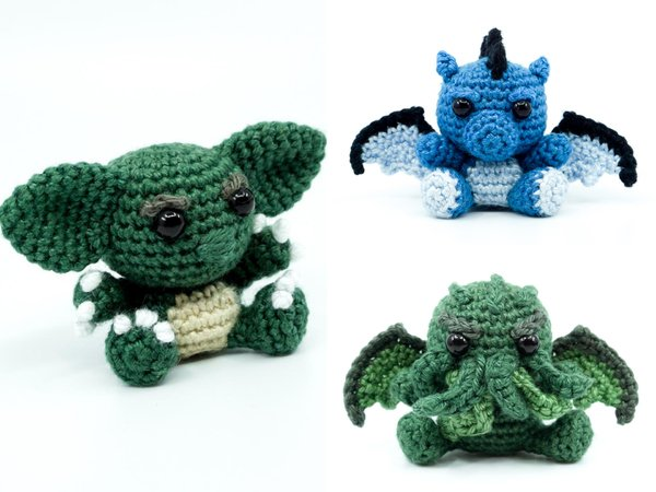 Monster PDF Crochet Pattern Bundle