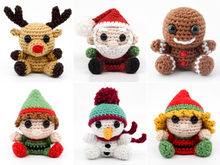 Christmas Minis PDF Crochet Pattern Bundle