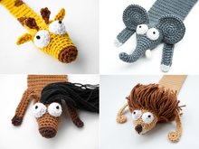 Exotic Animal Bookmarks PDF Crochet Pattern Bundle
