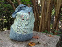 "Market bag crochet pattern ""Take me with you"""