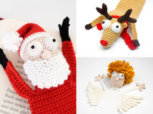 Christmas Bookmarks PDF Crochet Pattern Bundle
