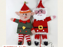 Jumping Jack Christmas Crochet Pattern