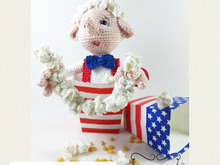 Mr. Pop Corn, Amigurumi Crochet Pattern