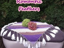 "Anleitung Sitzdecke ""Romantic Feathers"""