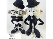 The Egg Brothers, Amigurumi Häkelanleitung