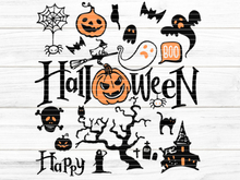 Plotterdatei Halloween Mix