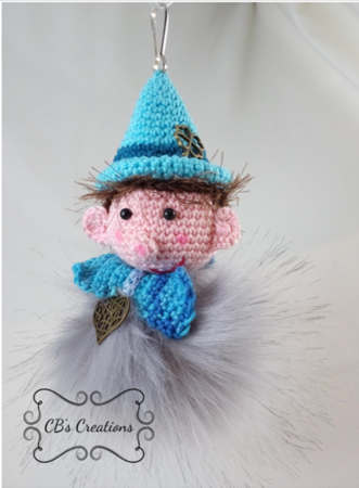 unnies Funn, Fuzz and Fozz, Crochet Pattern, fur pompon