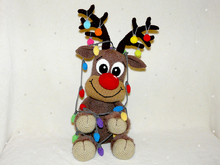 Crochet Pattern Stefan the Reindeer