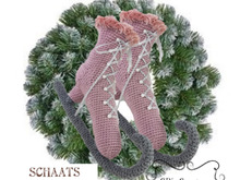 Ice Skate Crochet Pattern