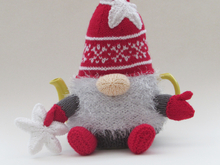 Christmas Gnome Tea Cosy Knitting Pattern