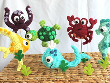 fish and co. nursery mobile crochet pattern
