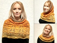 Super Loop, scarf, shoulder warmer, shall collar, all size