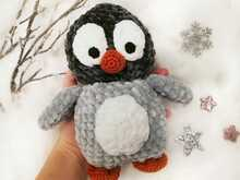 Anleitung Pinguinbaby Mia
