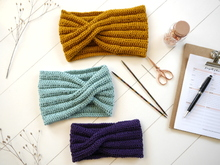 Knitting Pattern - Headband NIA - No.245E