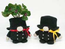 Chimney Sweep Gnome - Lucky Charm - Crochet Pattern