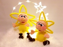 "Crochet Pattern ""Little Star"""