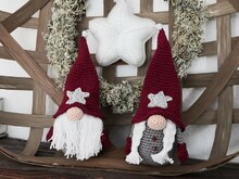 Gnome couple crochet pattern