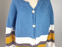 Pattern The knitted Dory Cardigan