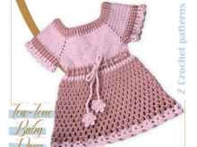 Two-Tone Baby Dress Pattern